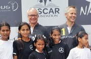 In addition Mercedes-Benz India will continue to fund existing Laureus-supported partners Oscar Foundation and YUWA.