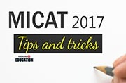 Preparation tips for MICAT 2017