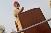Will Modi stop flying tricolour at Red Fort? PM gets drawn into Sangeet Som-Taj Mahal controversy