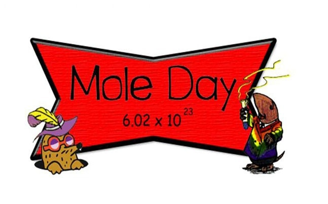 Happy National Mole Day! Every...
