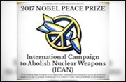 Nobel Peace Prize to anti-nuclear NGO group in call to eliminate world's nukes