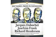 Nobel Prize in Chemistry 2017 goes to Jacques Dubochet, Joachim Frank and Richard Henderson