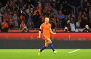 World Cup qualifiers: Playoff-bound Sweden lose as Arjen Robben signs off for Dutch in style