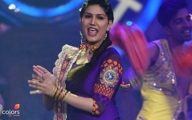 Bigg Boss 11 contestant Sapna Chaudhary.