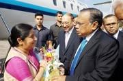 Sushma Swaraj in Dhaka: Rohingya crisis to dominate talks with Bangladesh