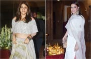 In pictures: Ekta Kapoor to Neha Dhupia, these celebs shone and shimmered at this Diwali party
