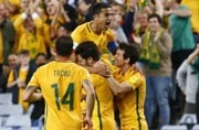 Tim Cahill scores extra-time winner to keep Australia alive for World Cup spot