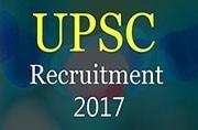 UPSC Recruitment 2017: Apply online