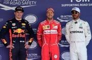 Mexican Grand Prix: Sebastian Vettel takes 50th career pole, Lewis Hamilton qualifies third