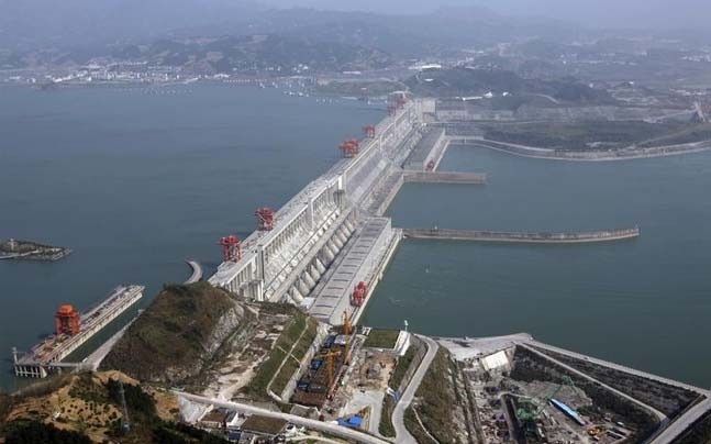 The Three Gorges Dam   Photo: Reuters