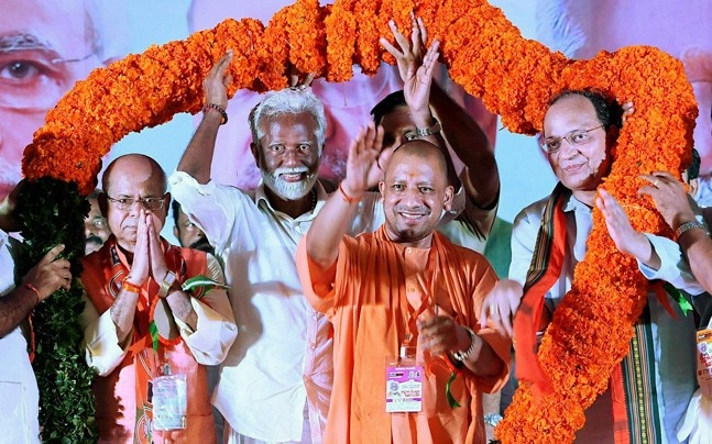 Yogi Adityanath's day out in Kerala