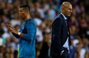Zinedine Zidane's 100th game as Real Madrid take on Cristiano Ronaldo's favourite rivals