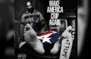 Snoop Dogg stands over Donald Trump's dead body on his new album cover. Uh...
