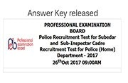 MPPEB SI Recruitment Exam 2017: Check out the answer key at vyapam.nic.in