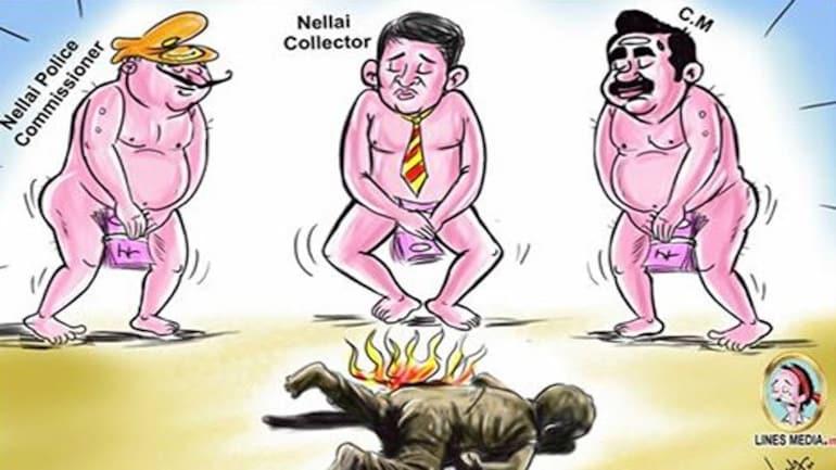 G Bala's cartoon