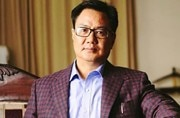 Watch: BJP minister Kiren Rijiju doing pullup workout is giving us all major fitness goals