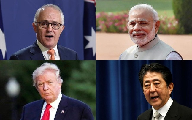China is carefully watching the revival of the India-United States-Japan-Australia quadrilateral dialogue.