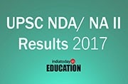 UPSC NDA/NA II Results 2017 declared at upsc.gov.in: How to check
