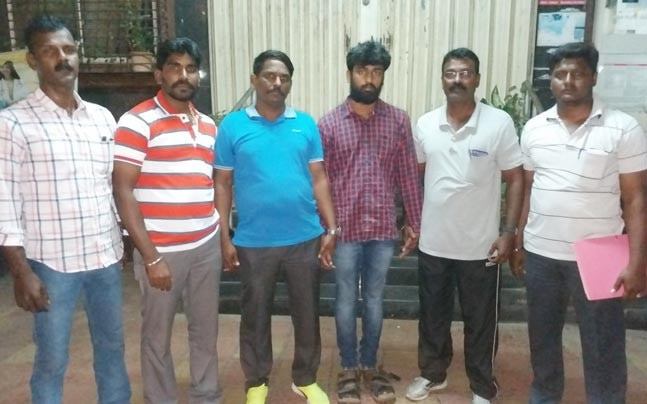 Accused arrested by Tamil Nadu Police