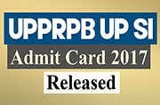 Admit card released for UPPRPB UP SI Exam, download now