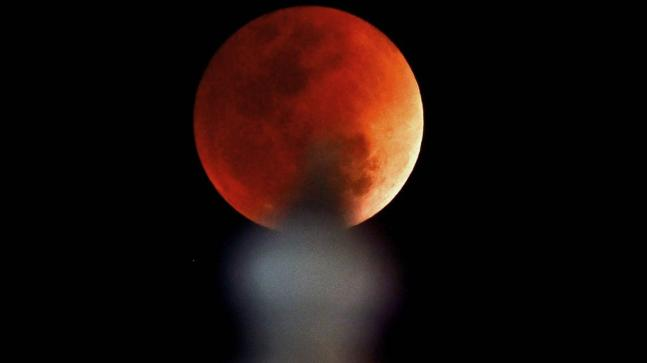 red moon today india time - photo #13