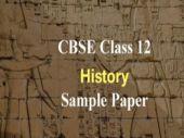 CBSE Class 12 History Sample Paper