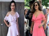 Taapsee Pannu wore a dress just like Priyanka Chopra's, and left everyone disappointed
