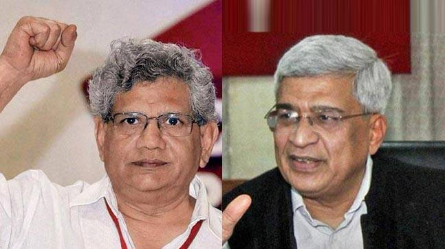 BJP's alliances in Tripura contradict its nationalism agenda: Yechury