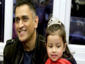 MS Dhoni enjoys Ziva's first Annual Day function at school. Watch video