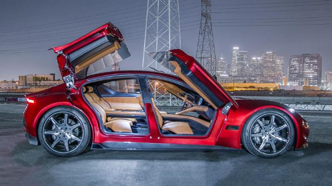 The Future Is Now! The Fisker EMotion EV