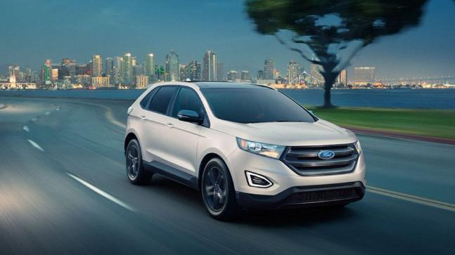 Ford will fit the brakes on its redesigned 2019 Edge midsize crossover vehicle and its new 2019 Ranger midsize pickup