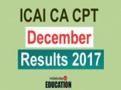 ICAI CA CPT Results 2017 declared at icaiexam.icai.org