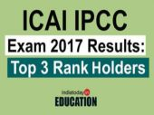 ICAI declares result for IPCC examination 2017; check the first three rank holders here
