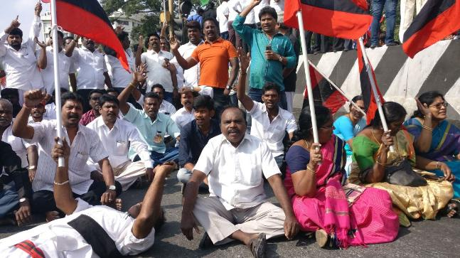 Cut in bus fares an 'eye-wash', says DMK