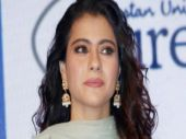 Kajol could've looked gorgeous in this green suit, but she didn't