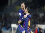 Watch: Messi's perfect free kick highlights Barcelona victory