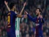 Lionel Messi, Luis Suarez star in FC Barcelona's 5-0 thrashing of Real Betis