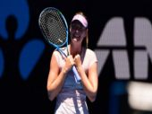 Australian Open: Maria Sharapova elated after overcoming 'troublemaker'