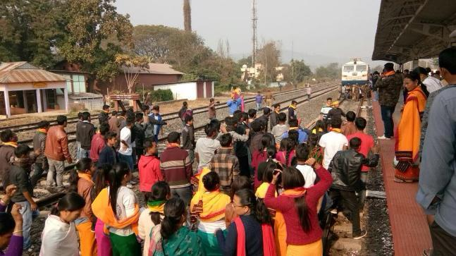 Commuters Stranded Amid Indefinite Curfew After 2 Killed In Assam Police Firing
