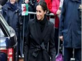 Meghan Markle at Cardiff.
