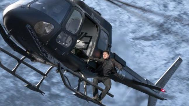 The moment Tom Cruise broke his ankle while filming Mission Impossible