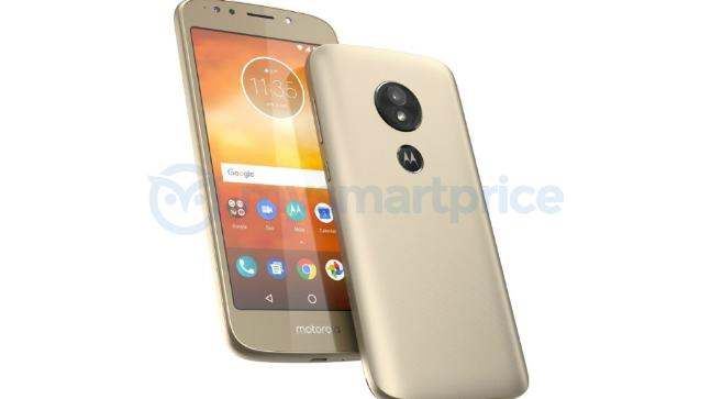 This is the Moto E5 with Rear-Facing Fingerprint Scanner