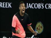 Australian Open: Nick Kyrgios topples Jo-Wilfried Tsonga to reach round 4