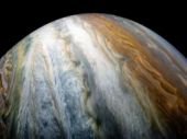 Pictures of Jupiter's cloud belt sent by Juno can go toe to toe with modern art
