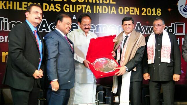 Image result for prakash padukone BAI lifetime award