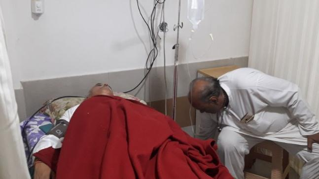 Brajesh Kumar MadhukarVHP leader Pravin Togadia under treatment in a private hospital