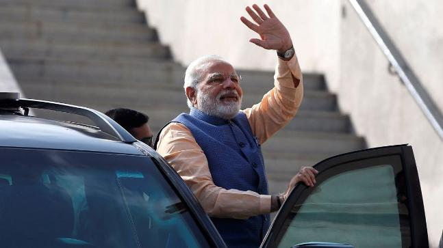 As US raises tariffs, India's Modi defends free trade
