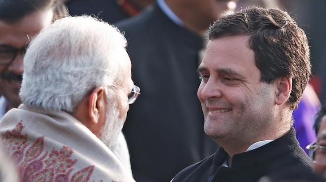 Republic Day Parade: Congress upset with Rahul Gandhi's seat on sixth row