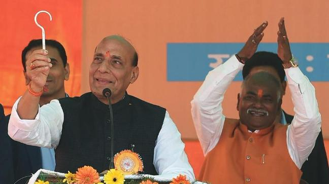 India will give befitting reply: Rajnath