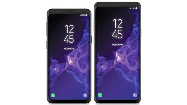 Samsung Galaxy S9+ render leaked again